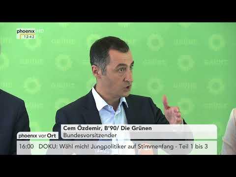 Vorstellung eines Klima- und Umwelt-Papiers von Bündnis 90/Die Grünen am 11.09.17
