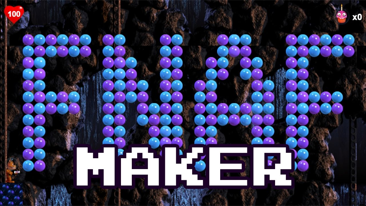 FNAF 57 MAKER - Build Your FREDDY IN THE SPACE