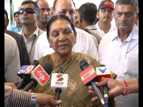 Gujarat CM attends Agri Asia 2015 Exhibition at Mahatma Mandir, Gandhinagar