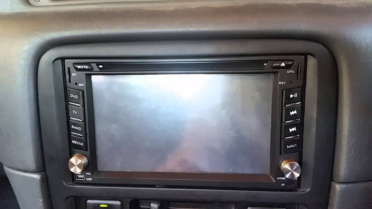 Toyota Camry GPS Display not working