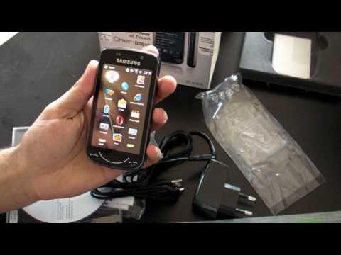 Samsung B7610 OmniaPRO Review HD  (in Romana ) - www.TelefonulTau.eu -