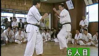 MATSUI SHOKEI 40 MAN KUMITE Fights 1-10