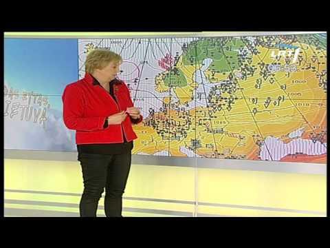 Klimatologės Audronės Galvonaitės komentaras apie artimiausius orus (2012 11 08 - 16)