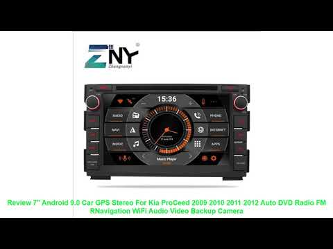 """Review 7"""" Android 9.0 Car GPS Stereo For Kia ProCeed 2009 2010 2011 20"""