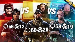 DRDISRESPECT VS COURAGE VS TIMTHETATMAN IN HIGH MONEY KILL CHALLENGE! (Modern Warfare)