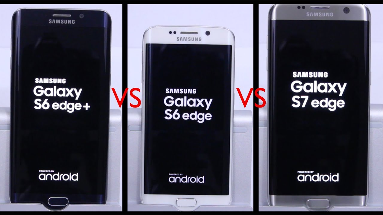 samsung galaxy s7 edge vs s6 edge vs s6 edge plus speed test youtube. Black Bedroom Furniture Sets. Home Design Ideas