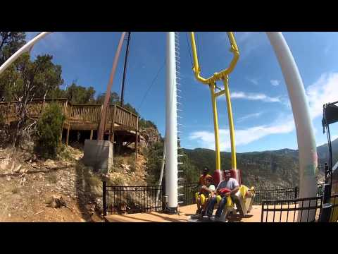 Giant Canyon Swing - Glenwood Springs Adventure Park