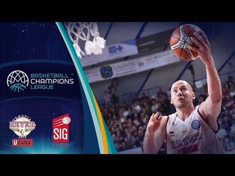Umana Reyer Venezia v SIG Strasbourg - Full Game - Basketball Champions League