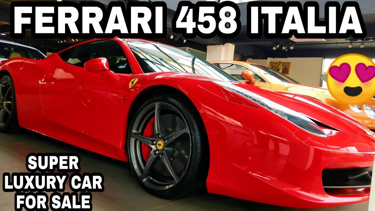 Ferrari 458 Italia For Sale Super Luxury Cars At Reasonable