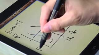 """Ink"": caneta de ponta fina para iPad"