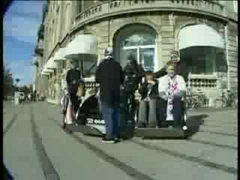 Quickshaw biketaxi - Copenhagen 2002-2003