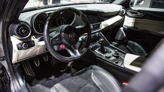 Alfa Romeo Stelvio   live from Los Angeles Auto Show  - 285km/h