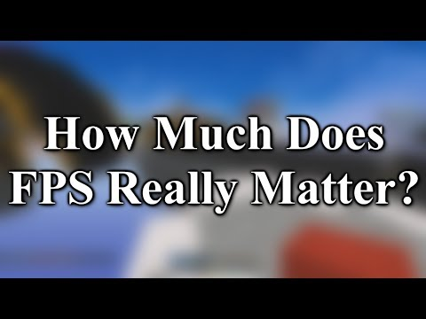 How Much Does FPS Actually Matter?