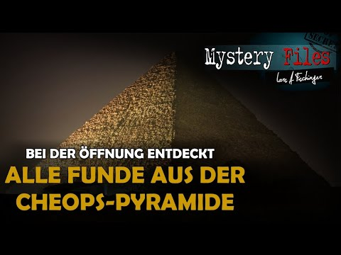 Von Mumien bis Gold: ALLE Funde aus dem Inneren der Cheops-Pyramide bei der