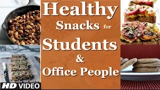 Top 3 Healthy Snacks for Students & Office People | (Guru Mann