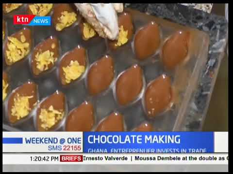 Chocolate making in Ghana