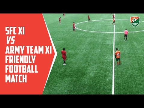 SFC XI vs Army Team XI - Friendly Football Match