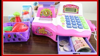 Mainan Kasir Kasiran Pakai Uang Beneran - Electronic Cash Register Using Real Money