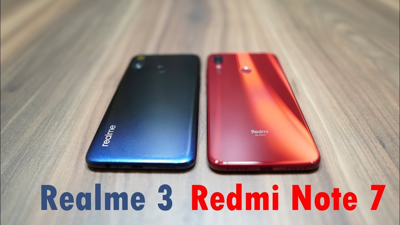 Image result for Realme 3 dan Redmi Note 7