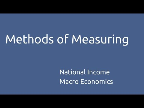 explain 3 ways of measuring national Measuring national income  the uses of national income statistics measuring the level and rate of growth  there are 3 ways of calculating gdp all of which.