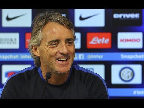 La Conferenza Stampa di Mancini prima di Genoa-Inter