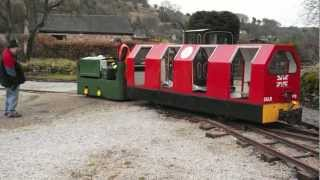 Steeple Grange Light Railway - Manrider 103 coupling testing