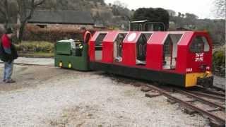 Steeple Grange Light Railway - Manrider 103 coupling testing