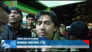 Ahmad Kurniawan 47, Penjaga Gawang Arema Telah Wafat