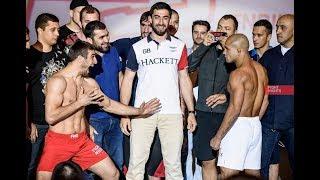 Взвешивание FIGHT NIGHTS GLOBAL 73: Ахмед Алиев vs. Диего Брандао