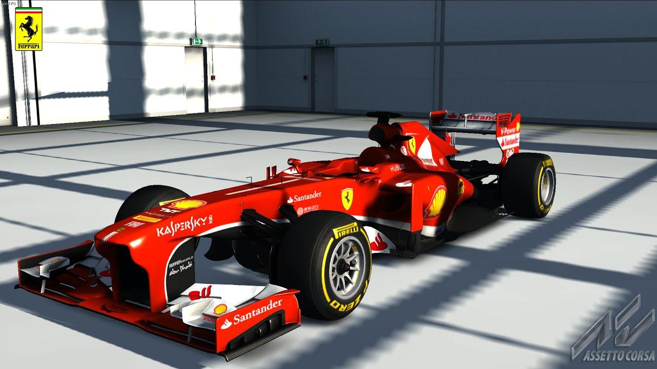 Taking a 2013 Ferrari F1 car around Monza - YouTube
