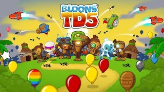 Bloons td battle 5  speed run no escape (have fun)