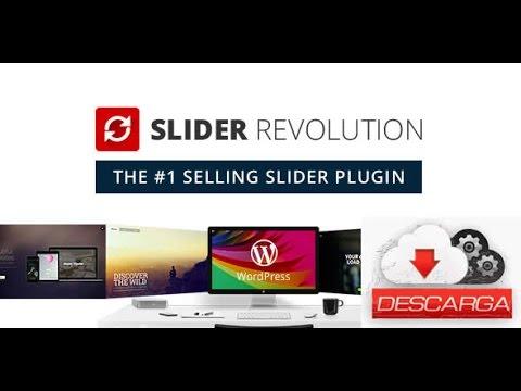 Descargar Slider Revolution 5.4 GRATIS - 2017