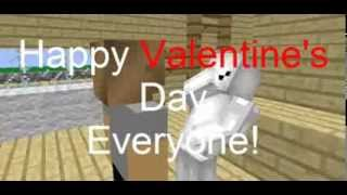 Flowers for my Valentine:PewDieCry FanFic - A Minecraft Animation!