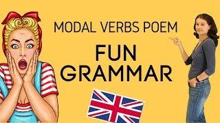 Грамматика в стихах: 5 главных модальных глаголов.
