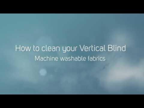 How to clean your vertical blind