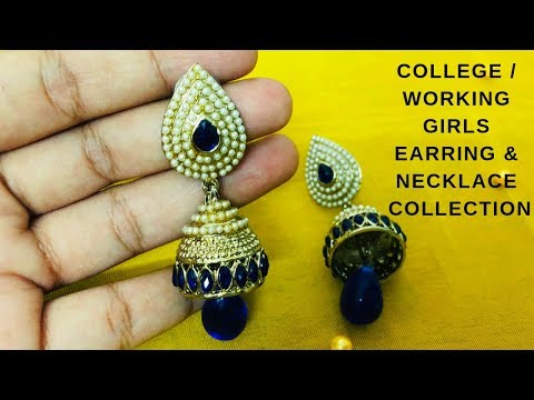 Black Metal Jewelry Collection for College & Working girls   Casual & Function wear Oxidized Jewelry