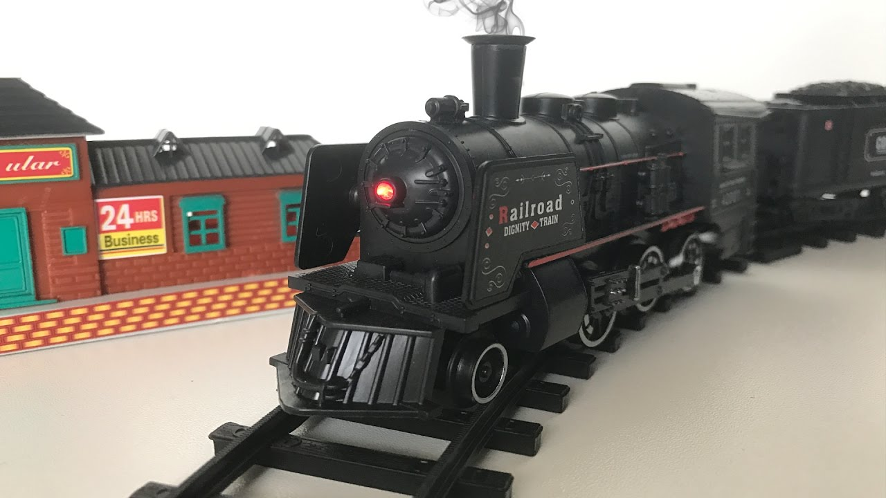 Toy Steam Locomotive with Real Smoke! League Lines Train ...