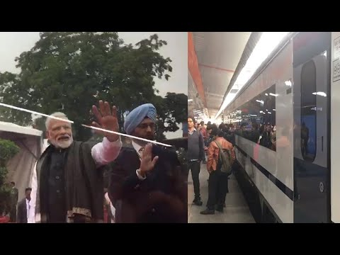 PM Modi flags off Vande Bharat Express, India's fastest Train Mp3