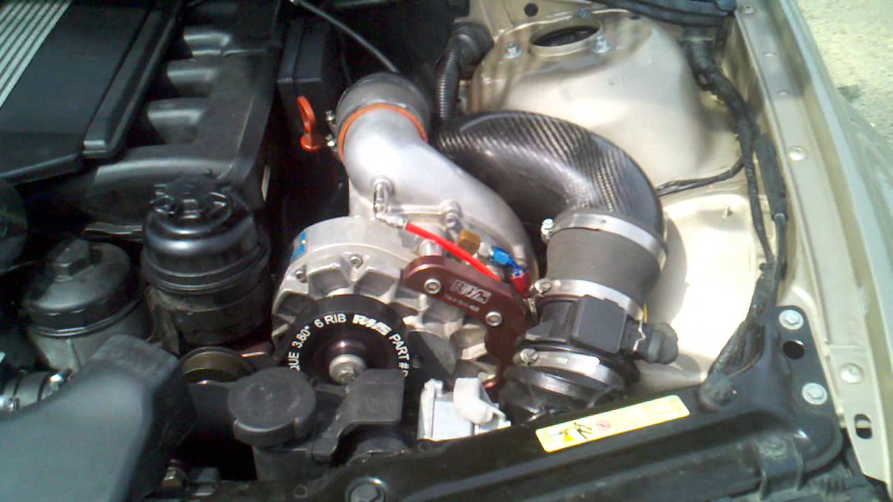 Bmw E46 330i Touring Rms Vortech Supercharger Youtube