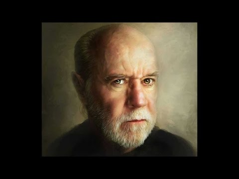 George Carlin Reading His Book: