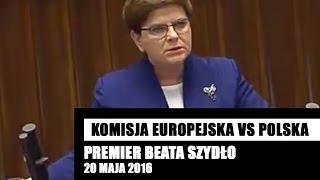 Premier Szydło MASAKRUJE cały OBÓZ ZDRADY NARODOWEJ donoszący na Polskę!