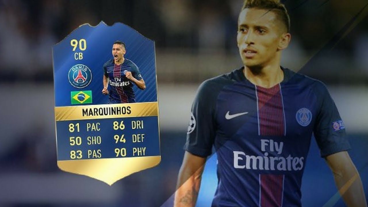 MARQUINHOS TOTS GRATIS FIFA 17
