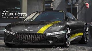 제네시스 GT70 예상도-제네시스 X! 빚내서라도 계약…