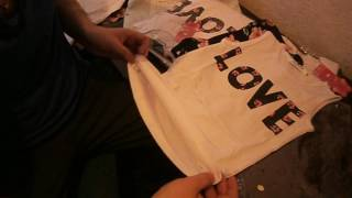 Vlog Обзор распаковка посылки  детского платья, комплекта одежды LOVE. Посылка из Китая, aliexpress