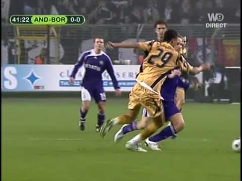 Anderlecht 2 - 1 Bordeaux (13-02-2008) Coupe UEFA