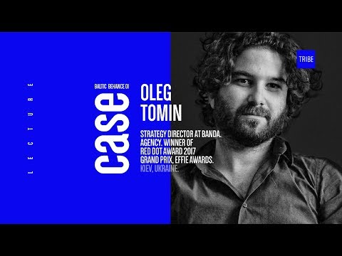 Oleg Tomin – Creative Director at BART and FINK. #CaseLectures