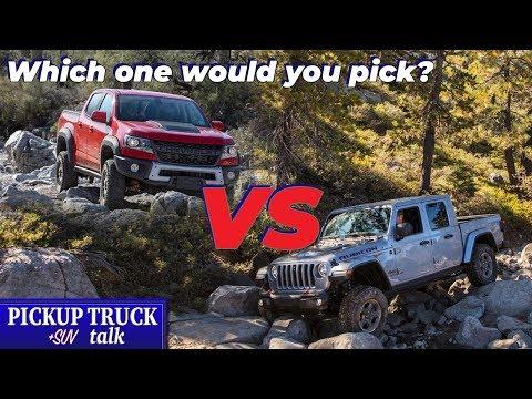 Face Off! Chevy Colorado AEV Bison vs Jeep Gladiator Rubicon