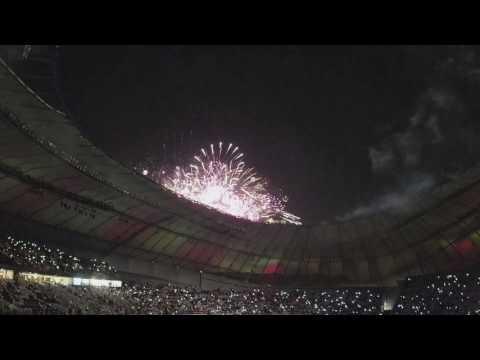 Qatar Khalifa Stadium Opening Day...