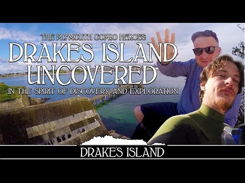 Abandoned Island Explored - Drakes Island Guerrilla Documentary Plymouth Sound UK