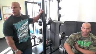 Phil Heath Training Series Part 2 Phil Heath Trains Juan Morel and John Delaros